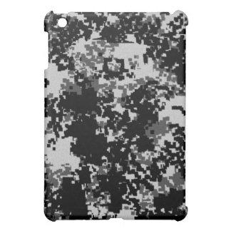 Black Digital Camouflage iPad Case