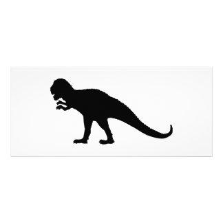 Black Dinosaur Rack Card