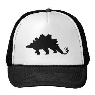 Black Dinosaur Trucker Hat