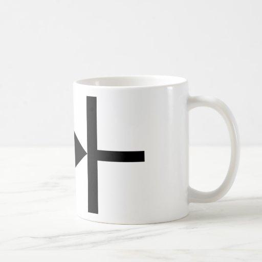 black diode icon mug