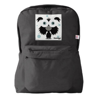 Black Dog Backpack, Black American Apparel™ Backpack