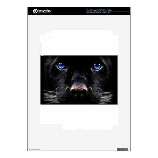 Black Dog Blue Eyes Skin For The iPad 2