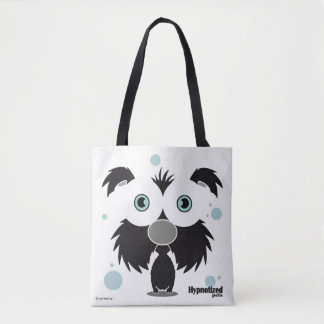 Black Dog Custom All-Over-Print Tote Bag