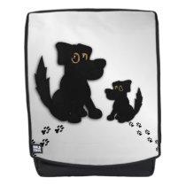 Black Dog Family Backpack