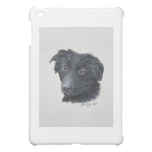 Black Dog iPad Mini Cover