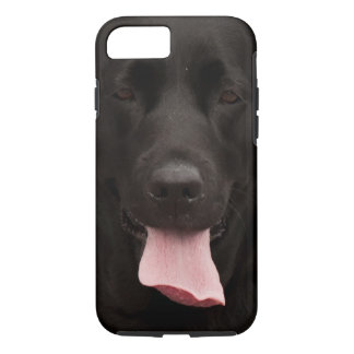 Black dog iPhone 7 case