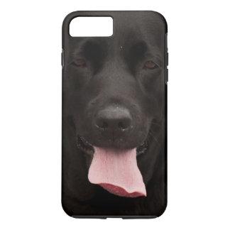 Black dog iPhone 8 plus/7 plus case