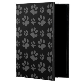 Black dog paw print powis iPad air 2 case