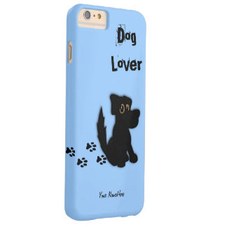 Black Dog Personal Barely There iPhone 6 Plus Case