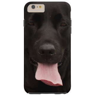 Black dog tough iPhone 6 plus case