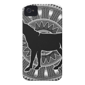 BLACK DONKY MAYA CIRCLE PRODUCTS iPhone 4 Case-Mate CASES