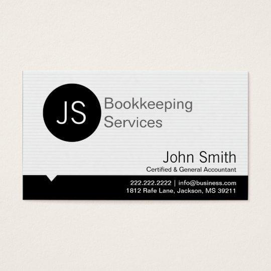 Black dot bookeepingaccounting business card zazzle black dot bookeepingaccounting business card reheart Images