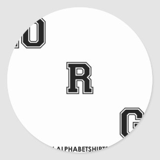 Black Dot ORG Classic Round Sticker