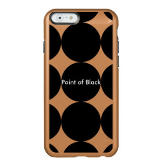 Black Dot Pattern Incipio Feather® Shine iPhone 6 CaseZazzle.de