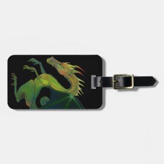 Black Dragon Bag Tag