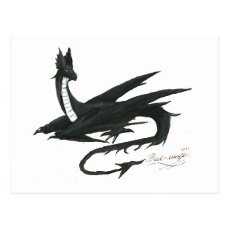 Black_Dragon_by_angel_wolfmaiden Postcards