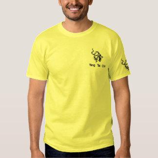 Black Dragon Embroidered T-Shirt