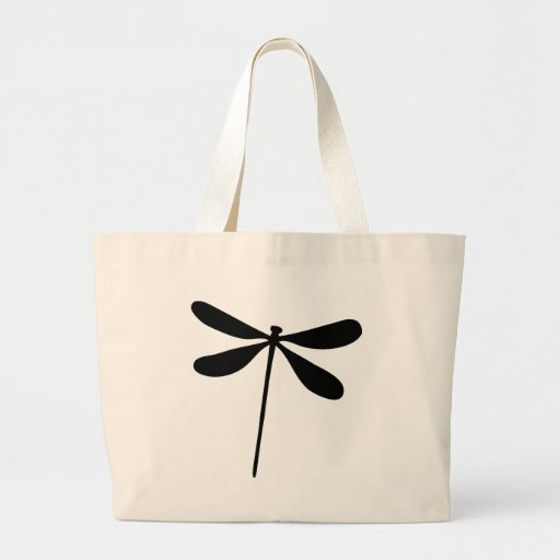 black dragon fly icon bag
