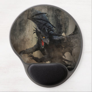 Black Dragon Gel Mouse Pad