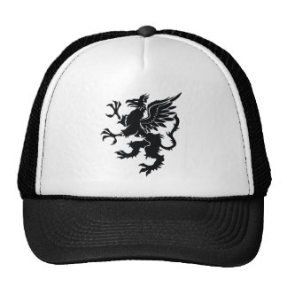 Black dragon Heraldry Trucker Hat