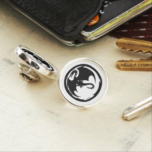 Black Dragon lapel pin