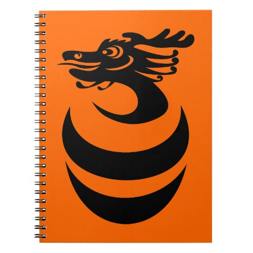 Black Dragon Notebook