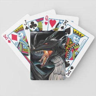 Black Dragon Playing Cards