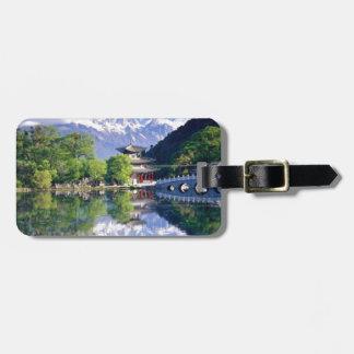 Black Dragon Pool, Lijiang Yunnan,China Luggage Tags