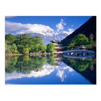 Black Dragon Pool, Lijiang Yunnan,China Postcard