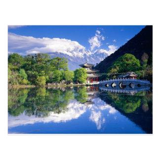 Black Dragon Pool, Lijiang Yunnan,China Postcard
