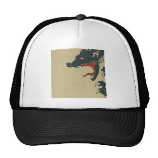 Black Dragon Roar Mesh Hats