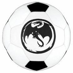 Black Dragon Soccer Ball at Zazzle