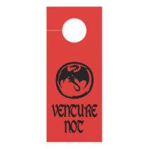 Black Dragon Venture Venture Not door hang 2 sided Door Hanger