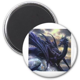 Black dragoon magnet