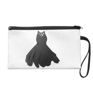 Black Dress Wrist Bag