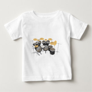 Black Drum Kit: 10 Piece: Baby T-Shirt