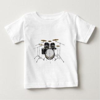 Black Drum Kit: Baby T-Shirt