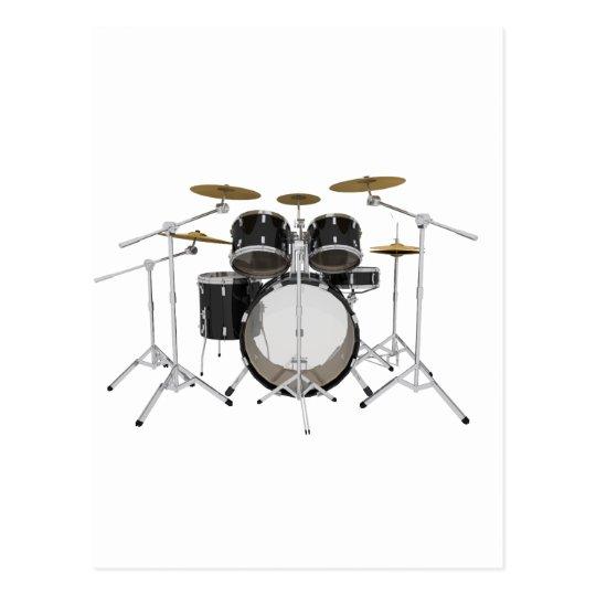 Black Drum Kit: Postcard