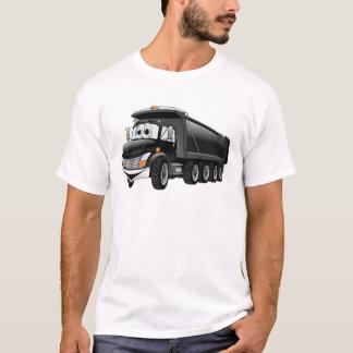 Black Dump Truck 10w Cartoon T-Shirt