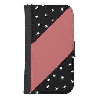Black&Dusty subió con las estrellas y la caja del Funda Tipo Billetera Para Galaxy S4