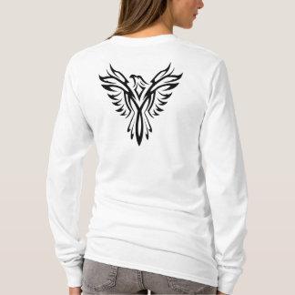 Black Eagle Aquila Tattoo Long Sleeve T-shirt