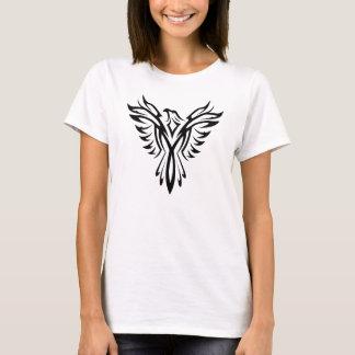 Black Eagle Aquila Tribal Tattoo T-shirt