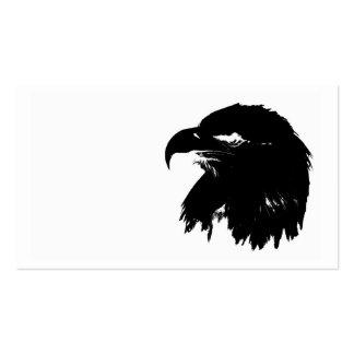 Black eagle business card