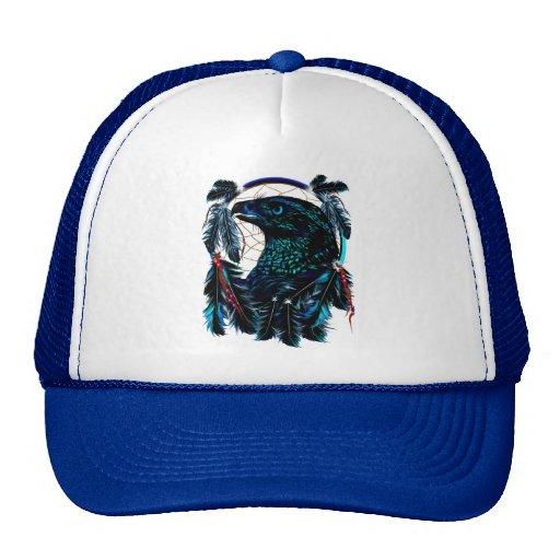 Black Ealge Dreamcatcher  Hat