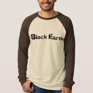 Black Earth Basic Long Sleeve Raglan T-Shirt