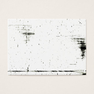 Black Edge Grunge Texture (Add Your Color) Business Card