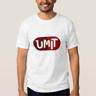 Black edun live T-Shirt with Umit logo