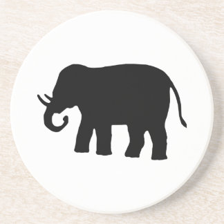 Black Elephant Drink Coasters