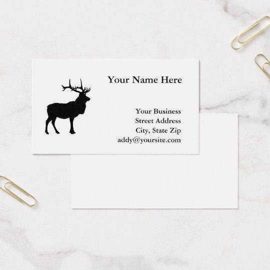 Black Elk Silhouette Business Card