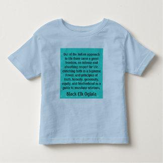 Black Elk toddler  shirt